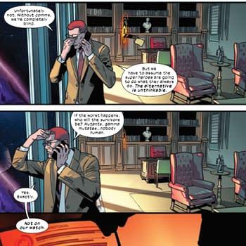Henry Peter Gyrich Returns To Type &#8211 Krakoan X-Men Comics Spoilers