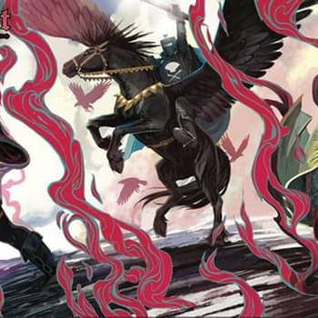 Today Is Stephanie Hans Day &#8211 See Her Black Knight Cover Set