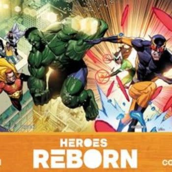 Heroes Reborn #1-4 Solicitations For May 2021