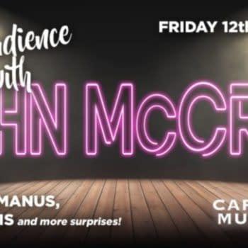 Garth Ennis & Steve McManus Join John McCrea For Cartoon Museum Event
