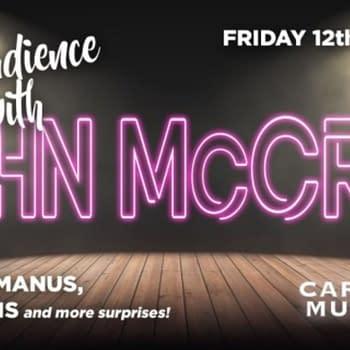 Garth Ennis &#038 Steve McManus Join John McCrea For Cartoon Museum Event