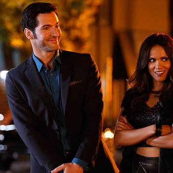 Lucifer Season 6: Tom Ellis & Lesley-Ann Brandt Look Devilishly Sharp
