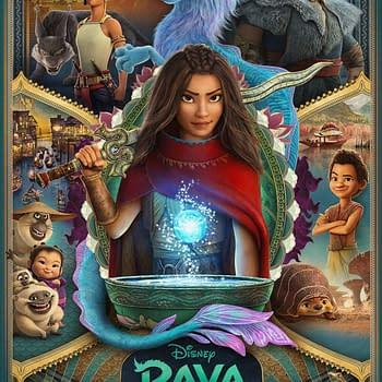 Disney Shares a New Look at Raya and the Last Dragon