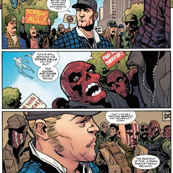 Pro-Red Skull March Captain America Wants To Listen To All Americans