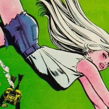 Showcase #79 featuring Dolphin, 1968 DC Comics, art by Jay Scott Pike.