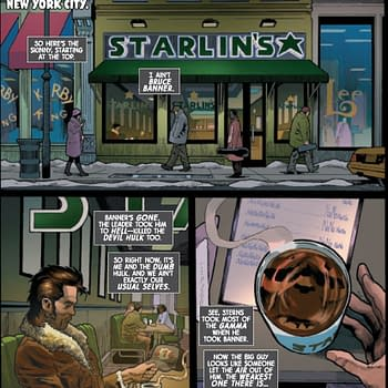 Starlins Is Now A Coffee Store Chain in Immortal Hulk #43