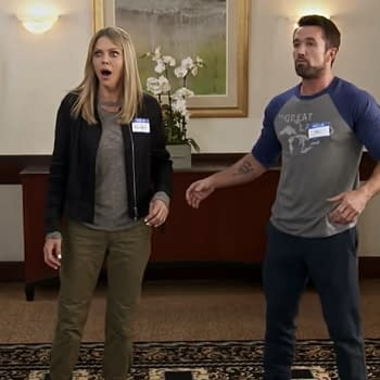 Always Sunny: Rob McElhenney Kaitlin Olson Offer Uplifting Valentines