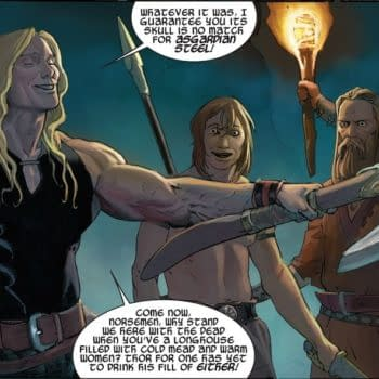The New Valkyrie Owned Thor's Axe Jangenborg Before Thor