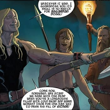 The New Valkyrie Owned Thors Axe Jarnbjorn Before Thor