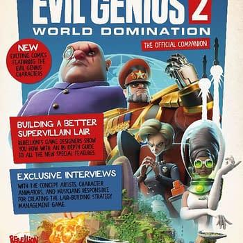 Evil Genius Magazine: Rebellion Announces tie-in to Upcoming Game