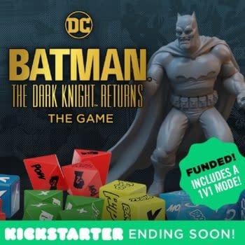 """""""Batman: The Dark Knight Returns"""" KS Fully-Funded, Mere Hours Left"""