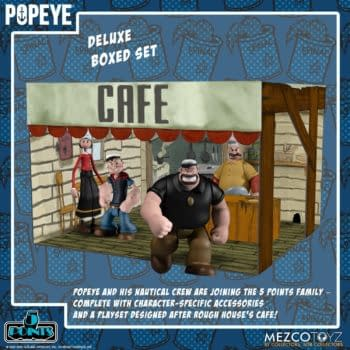 Popeye and Rough House's Cafe Comes to Mezco Toyz