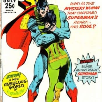 Separated At Birth - Thor And Superman Hug It Out