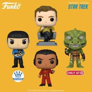 Funko Beams Down New Classic Star Trek Pop Vinyls
