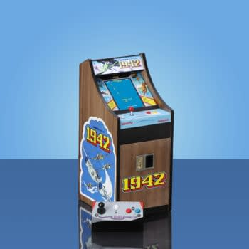 New Wave Reveals 1942 & 1943 Mini Arcade Cabinets