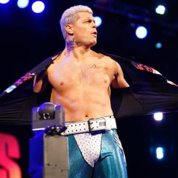 Cody Rhodes appears on AEW Dynamite - Credit: All Elite Wrestling