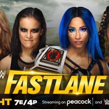 WWE Fastlane - Once Again Sasha and Bianca Get in Their Own Way