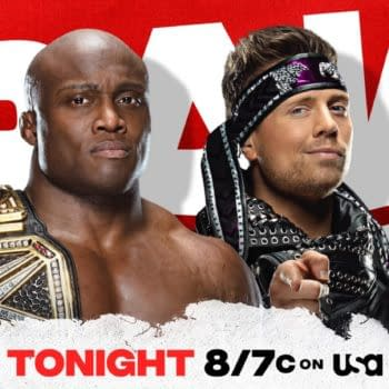 The Miz will attempt to regain the WWE Championship from Bobby Lashley in a rematch on WWE Raw tonight.