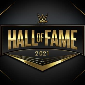 The Logo for WWE Hall of Fame 2021