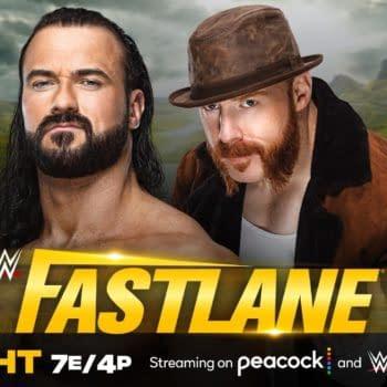 WWE Fastlane - Drew McIntyre Wrecks Sheamus With a Claymore Kick