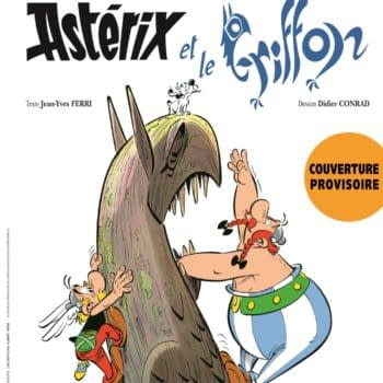 The Best-Selling Comic Of 2021 Will Be Called... Asterix & The Griffin