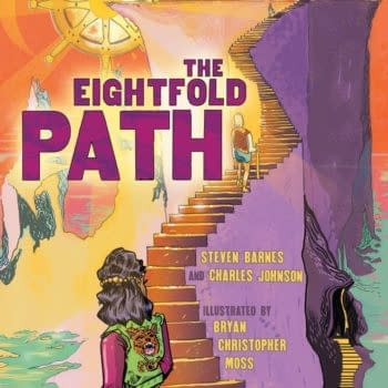 Steven Barnes, Charles Johnson and Bryan Moss' Eight-Fold Path OGN