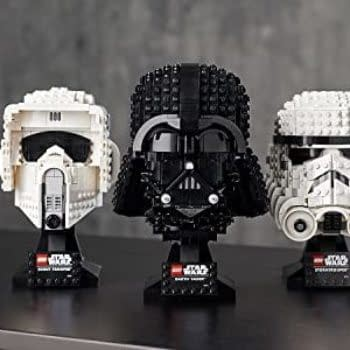 LEGO Reveals Vader, Scout Trooper Helmets, and Probe Droid Sets