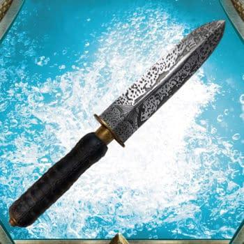 Aquaman Black Manta Replica Knife Arrives From Factory Entertainment