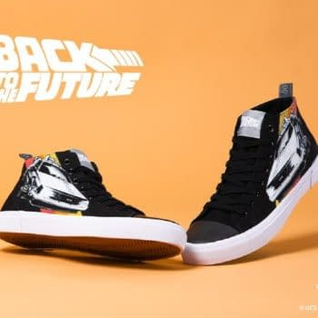 Akedo & Zavvi Launch Exclusive Back To The Future Trainers