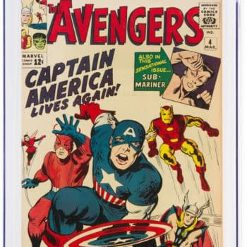 An Amazing CGC Copy Of Avengers #4 Is On Auction At Heritage