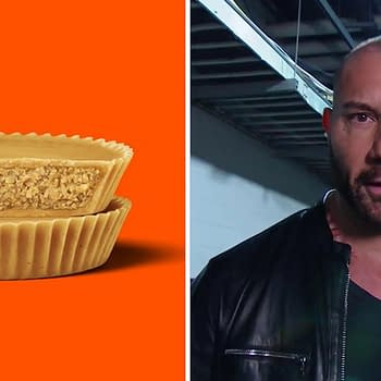 Dave Bautista Takes on Big Chocolate Over Ultimate Peanut Butter Cup