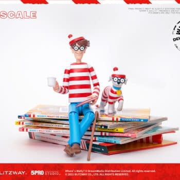 """The Search For Waldo Continues With Blitzway """"Where's Waldo"""" Figure"""