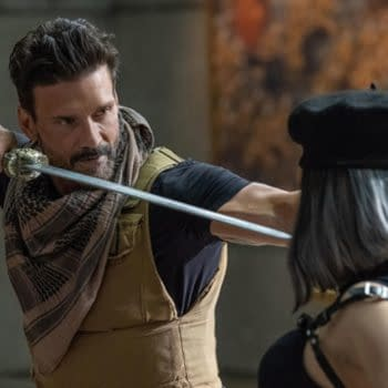 Frank Grillo Talks Boss Level, Kingdom, & His Incredible Work Ethic