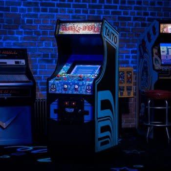 Numskull Reveals A New Quarter Arcades Cabinet For Bubble Bobble