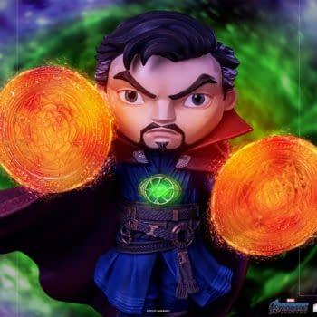 Doctor Strange Enters the Endgame With New Iron Studios MiniCo