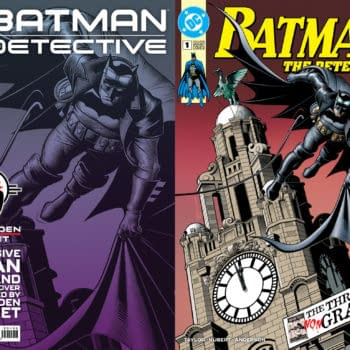 Forbidden Planet's The Detective #1 Cover Returns Batman To Liverpool