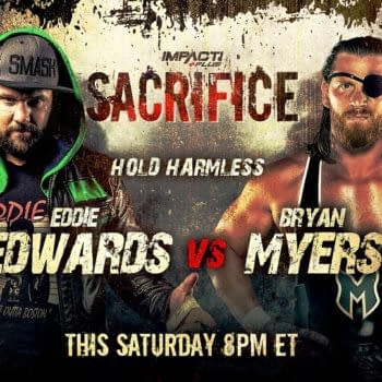 Brian Myers will face Eddie Edwards in a Hold Harmless match at Impact Sacrifice