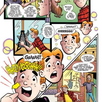 Interior preview art from Archie Comics' Everything's Archie 80th Anniversary one-shot by Fred Van Lente and Dan Parent.
