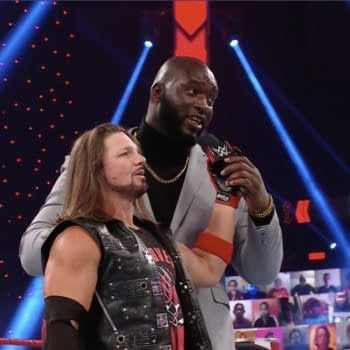 AJ Styles and Omos challenge new Raw tag team championsThe New Day to a match at WrestleMania on WWE Raw.