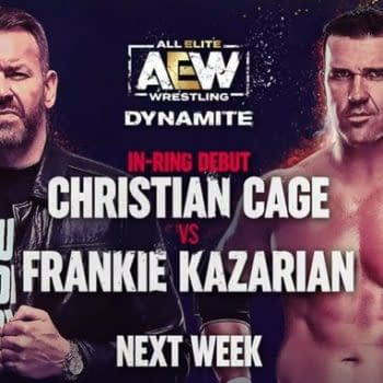 Christian Cage steps in the ring for the first time in seven years to take on Frankie Kazarian on AEW Dynamite next week.