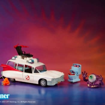 Real Ghostbusters Kenner Classic Ecto-1 Reissue Heading To Walmarts