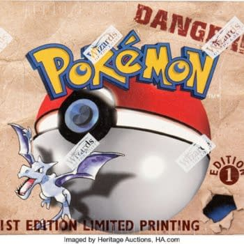 Pokémon TCG 1st Edition Fossil Booster Box Auctioning At Heritage