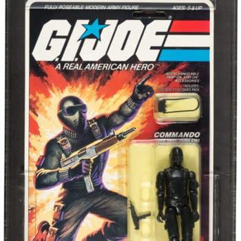 GI Joe Graded Straight Arm Snake Eyes Figure On Auction At Heritage