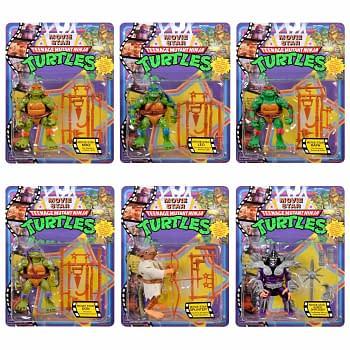 Teenage Mutant Ninja Turtles 1990s Playmates Target Set Revealed