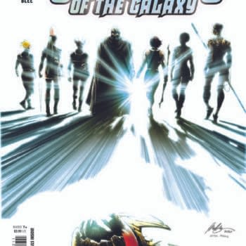 The Rafael Albuquerque cover to Guardians of the Galaxy #12 by Al Ewing and Juan Cabal, in stores from Marvel Comics on Wednesday, March 24th, 2021