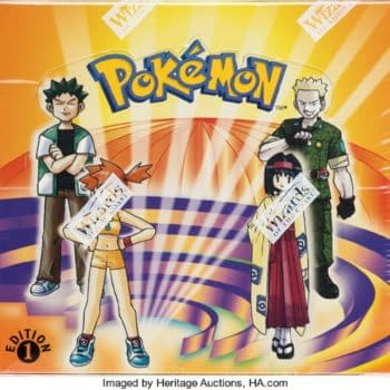 Pokémon TCG 1st Edition Gym Heroes Box Up For Auction At Heritage