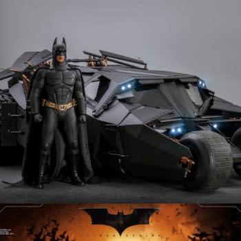 Hot Toys Debuts First 1/6 Vehicle With Batman Begins Batmobile Tumbler