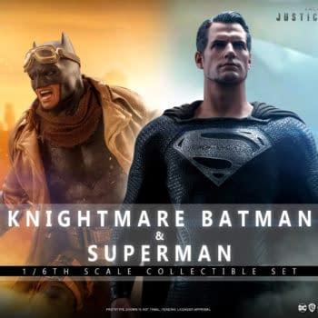 Hot Toys Unveils Snyder Cut Batman & Superman Figure 2-Pack