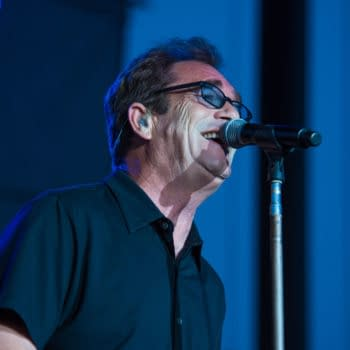 LINCOLN, CA - July 31: Huey Lewis and The News performs at Thunder Valley Casino Resort in Lincoln, California on July 31, 2015 (Randy Miramontez / Shutterstock.com)