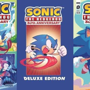 SEGA & IDW Partner Up For Sonic The Hedgehog 30th Anniversary Comic